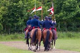 The Light Cavalry HAC Annual Review and Inspection 2013. Windsor Great Park Review Ground, Windsor, Berkshire, United Kingdom, on 09 June 2013 at 11:35, image #136