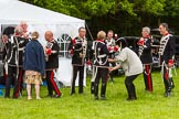 The Light Cavalry HAC Annual Review and Inspection 2013. Windsor Great Park Review Ground, Windsor, Berkshire, United Kingdom, on 09 June 2013 at 12:02, image #149