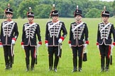 The Light Cavalry HAC Annual Review and Inspection 2013. Windsor Great Park Review Ground, Windsor, Berkshire, United Kingdom, on 09 June 2013 at 12:30, image #186