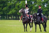 The Light Cavalry HAC Annual Review and Inspection 2013. Windsor Great Park Review Ground, Windsor, Berkshire, United Kingdom, on 09 June 2013 at 13:27, image #364