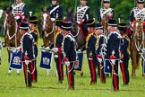 The Light Cavalry HAC Annual Review and Inspection 2013. Windsor Great Park Review Ground, Windsor, Berkshire, United Kingdom, on 09 June 2013 at 13:29, image #383