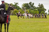The Light Cavalry HAC Annual Review and Inspection 2013. Windsor Great Park Review Ground, Windsor, Berkshire, United Kingdom, on 09 June 2013 at 13:30, image #387