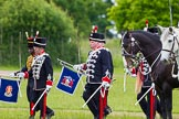 The Light Cavalry HAC Annual Review and Inspection 2013. Windsor Great Park Review Ground, Windsor, Berkshire, United Kingdom, on 09 June 2013 at 13:30, image #395