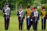 The Light Cavalry HAC Annual Review and Inspection 2013. Windsor Great Park Review Ground, Windsor, Berkshire, United Kingdom, on 09 June 2013 at 13:31, image #402