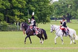 The Light Cavalry HAC Annual Review and Inspection 2013. Windsor Great Park Review Ground, Windsor, Berkshire, United Kingdom, on 09 June 2013 at 13:34, image #424