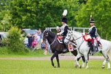 The Light Cavalry HAC Annual Review and Inspection 2013. Windsor Great Park Review Ground, Windsor, Berkshire, United Kingdom, on 09 June 2013 at 13:35, image #433