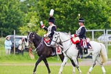 The Light Cavalry HAC Annual Review and Inspection 2013. Windsor Great Park Review Ground, Windsor, Berkshire, United Kingdom, on 09 June 2013 at 13:35, image #434