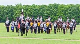 The Light Cavalry HAC Annual Review and Inspection 2013. Windsor Great Park Review Ground, Windsor, Berkshire, United Kingdom, on 09 June 2013 at 13:40, image #482