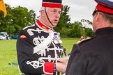 The Light Cavalry HAC Annual Review and Inspection 2013. Windsor Great Park Review Ground, Windsor, Berkshire, United Kingdom, on 09 June 2013 at 14:07, image #500