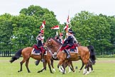The Light Cavalry HAC Annual Review and Inspection 2013. Windsor Great Park Review Ground, Windsor, Berkshire, United Kingdom, on 09 June 2013 at 14:33, image #541