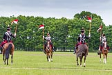 The Light Cavalry HAC Annual Review and Inspection 2013. Windsor Great Park Review Ground, Windsor, Berkshire, United Kingdom, on 09 June 2013 at 14:34, image #545