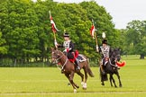 The Light Cavalry HAC Annual Review and Inspection 2013. Windsor Great Park Review Ground, Windsor, Berkshire, United Kingdom, on 09 June 2013 at 14:36, image #551