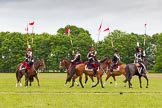 The Light Cavalry HAC Annual Review and Inspection 2013. Windsor Great Park Review Ground, Windsor, Berkshire, United Kingdom, on 09 June 2013 at 14:37, image #560