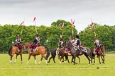 The Light Cavalry HAC Annual Review and Inspection 2013. Windsor Great Park Review Ground, Windsor, Berkshire, United Kingdom, on 09 June 2013 at 14:37, image #561