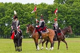The Light Cavalry HAC Annual Review and Inspection 2013. Windsor Great Park Review Ground, Windsor, Berkshire, United Kingdom, on 09 June 2013 at 14:39, image #568