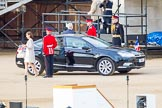 Beating Retreat 2014: The arrival of the French Ambassador, His Excellency Bernard Emié.. Horse Guards Parade, Westminster, London SW1A,  United Kingdom, on 11 June 2014 at 19:38, image #1