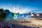 Beating Retreat 2014. Horse Guards Parade, Westminster, London SW1A,  United Kingdom, on 11 June 2014 at 21:41, image #377