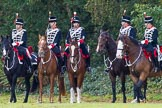 The Light Cavalry HAC Annual Review and Inspection 2014. Guards Polo Club. Windsor Great Park,    on 12 October 2014 at 12:26, image #62