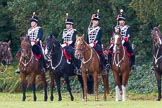 The Light Cavalry HAC Annual Review and Inspection 2014. Guards Polo Club. Windsor Great Park,    on 12 October 2014 at 12:26, image #63