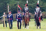 The Light Cavalry HAC Annual Review and Inspection 2014. Guards Polo Club. Windsor Great Park,    on 12 October 2014 at 12:26, image #66