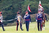 The Light Cavalry HAC Annual Review and Inspection 2014. Guards Polo Club. Windsor Great Park,    on 12 October 2014 at 12:26, image #67