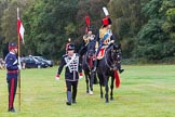 The Light Cavalry HAC Annual Review and Inspection 2014. Guards Polo Club. Windsor Great Park,    on 12 October 2014 at 12:50, image #107