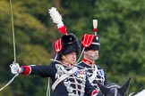 The Light Cavalry HAC Annual Review and Inspection 2014. Guards Polo Club. Windsor Great Park,    on 12 October 2014 at 12:51, image #110