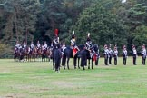 The Light Cavalry HAC Annual Review and Inspection 2014. Guards Polo Club. Windsor Great Park,    on 12 October 2014 at 12:52, image #118
