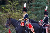 The Light Cavalry HAC Annual Review and Inspection 2014. Guards Polo Club. Windsor Great Park,    on 12 October 2014 at 12:58, image #136