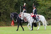 The Light Cavalry HAC Annual Review and Inspection 2014. Guards Polo Club. Windsor Great Park,    on 12 October 2014 at 13:01, image #154