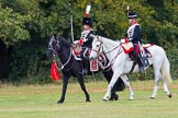 The Light Cavalry HAC Annual Review and Inspection 2014. Guards Polo Club. Windsor Great Park,    on 12 October 2014 at 13:06, image #180