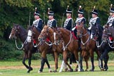 The Light Cavalry HAC Annual Review and Inspection 2014. Guards Polo Club. Windsor Great Park,    on 12 October 2014 at 13:06, image #181