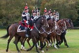 The Light Cavalry HAC Annual Review and Inspection 2014. Guards Polo Club. Windsor Great Park,    on 12 October 2014 at 13:07, image #187
