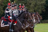 The Light Cavalry HAC Annual Review and Inspection 2014. Guards Polo Club. Windsor Great Park,    on 12 October 2014 at 13:07, image #188