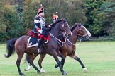The Light Cavalry HAC Annual Review and Inspection 2014. Guards Polo Club. Windsor Great Park,    on 12 October 2014 at 13:09, image #192