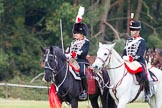 The Light Cavalry HAC Annual Review and Inspection 2014. Guards Polo Club. Windsor Great Park,    on 12 October 2014 at 13:09, image #194
