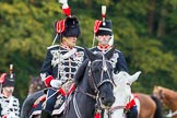 The Light Cavalry HAC Annual Review and Inspection 2014. Guards Polo Club. Windsor Great Park,    on 12 October 2014 at 13:10, image #198