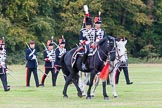 The Light Cavalry HAC Annual Review and Inspection 2014. Guards Polo Club. Windsor Great Park,    on 12 October 2014 at 13:11, image #200