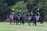 The Light Cavalry HAC Annual Review and Inspection 2014. Guards Polo Club. Windsor Great Park,    on 12 October 2014 at 13:13, image #209