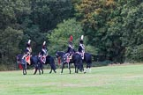 The Light Cavalry HAC Annual Review and Inspection 2014. Guards Polo Club. Windsor Great Park,    on 12 October 2014 at 13:13, image #210