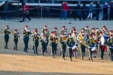 Beating Retreat 2015 - Waterloo 200. Horse Guards Parade, Westminster, London,  United Kingdom, on 10 June 2015 at 20:01, image #75