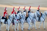 Beating Retreat 2015 - Waterloo 200. Horse Guards Parade, Westminster, London,  United Kingdom, on 10 June 2015 at 20:12, image #87