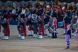 Beating Retreat 2015 - Waterloo 200. Horse Guards Parade, Westminster, London,  United Kingdom, on 10 June 2015 at 21:14, image #267