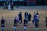 Beating Retreat 2015 - Waterloo 200. Horse Guards Parade, Westminster, London,  United Kingdom, on 10 June 2015 at 21:18, image #297