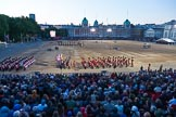 Beating Retreat 2015 - Waterloo 200. Horse Guards Parade, Westminster, London,  United Kingdom, on 10 June 2015 at 21:22, image #318