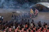Beating Retreat 2015 - Waterloo 200. Horse Guards Parade, Westminster, London,  United Kingdom, on 10 June 2015 at 21:27, image #335