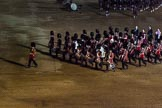 Beating Retreat 2015 - Waterloo 200. Horse Guards Parade, Westminster, London,  United Kingdom, on 10 June 2015 at 21:52, image #443