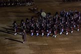 Beating Retreat 2015 - Waterloo 200. Horse Guards Parade, Westminster, London,  United Kingdom, on 10 June 2015 at 21:52, image #445