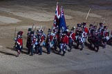 Beating Retreat 2015 - Waterloo 200. Horse Guards Parade, Westminster, London,  United Kingdom, on 10 June 2015 at 21:52, image #446