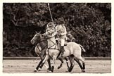7th Heritage Polo Cup semi-finals: Looking back - Barbara Patricia Zingg & Charlie Howel.. Hurtwood Park Polo Club, Ewhurst Green, Surrey, United Kingdom, on 04 August 2012 at 13:10, image #100